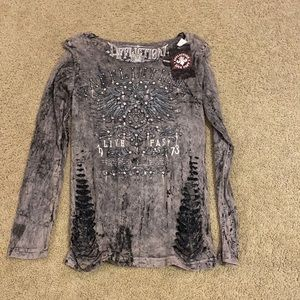 NWT affliction long sleeve
